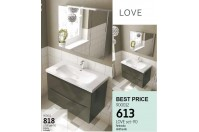 Love set mobilier 90 antracit